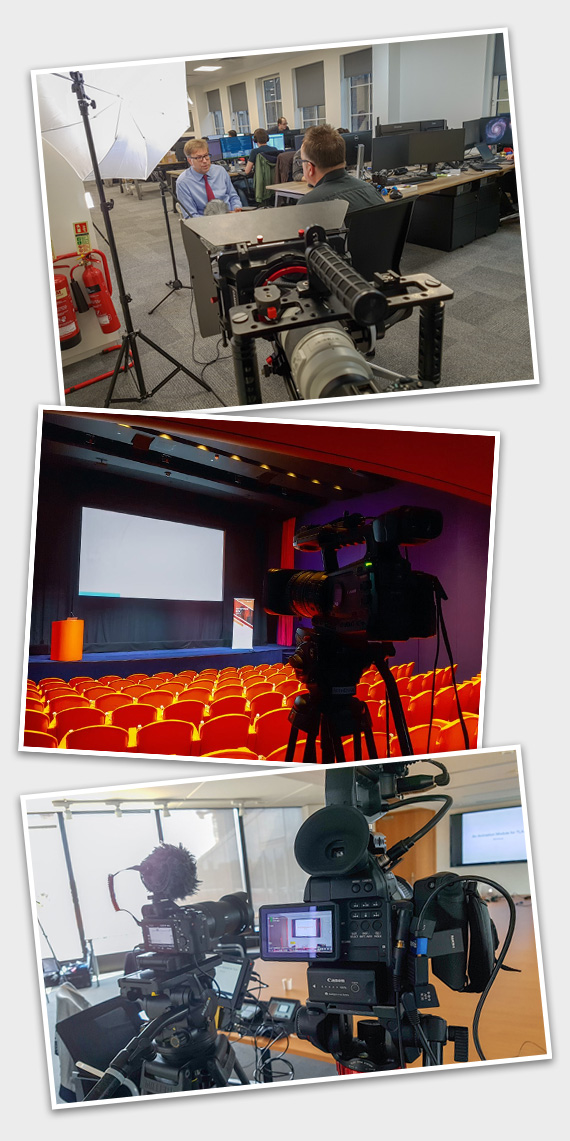 Camera operator for hire for video production agencies