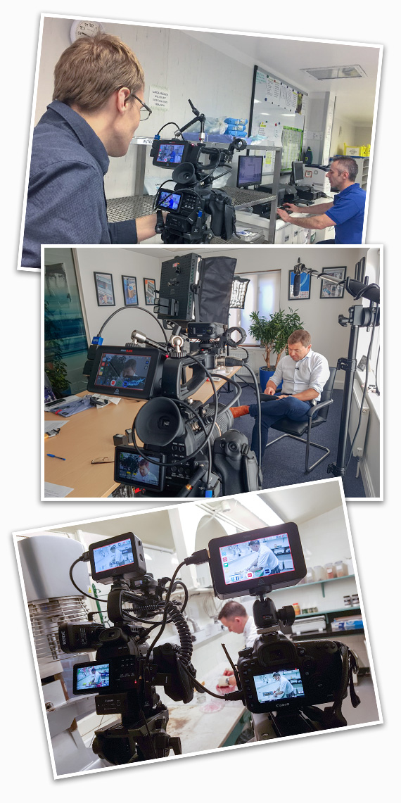 Freelance video production for marketing agencies